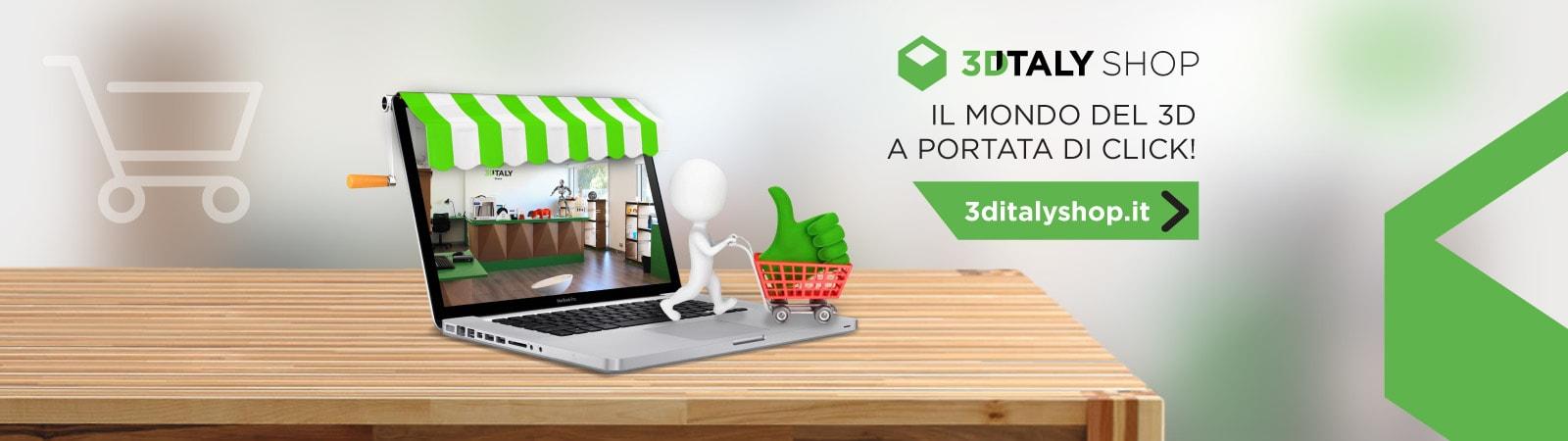 3ditaly il primo 3d printing store in italia stampanti 3d vendita filamenti - 3d printer italia ...